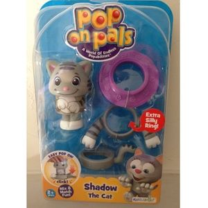 Pop on Pals-Shadow the Cat NIB